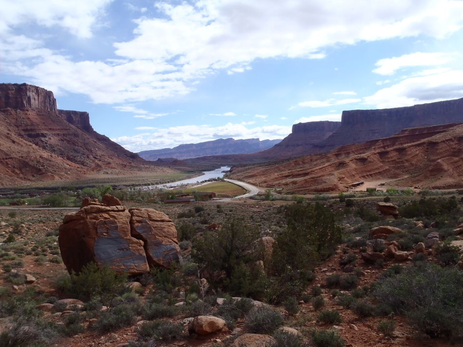 View of Colorado River, Utah